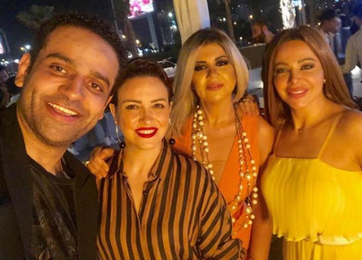 عمر السعيد وريهام وبوسي وسوزان نجم الدين