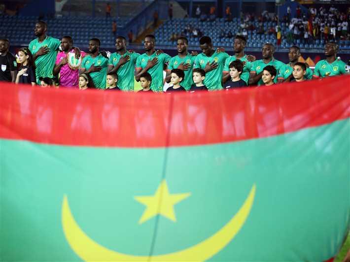 لاعبو موريتانيا