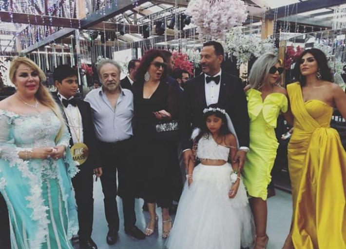 زفاف نجل ماجد المصري