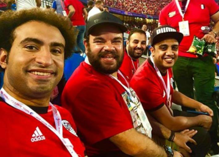 علي ربيع ومحمد عبد الرحمن وأوس أوس
