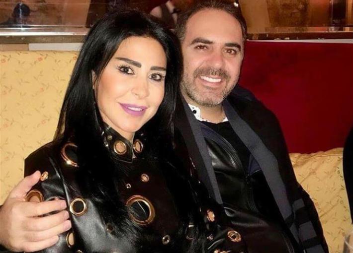 وائل جسار وزوجته