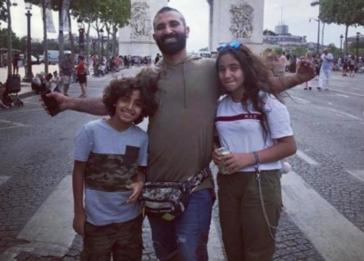 أحمد سعد وابنائه