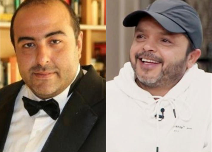 محمد هنيدي وسامح عبد العزيز