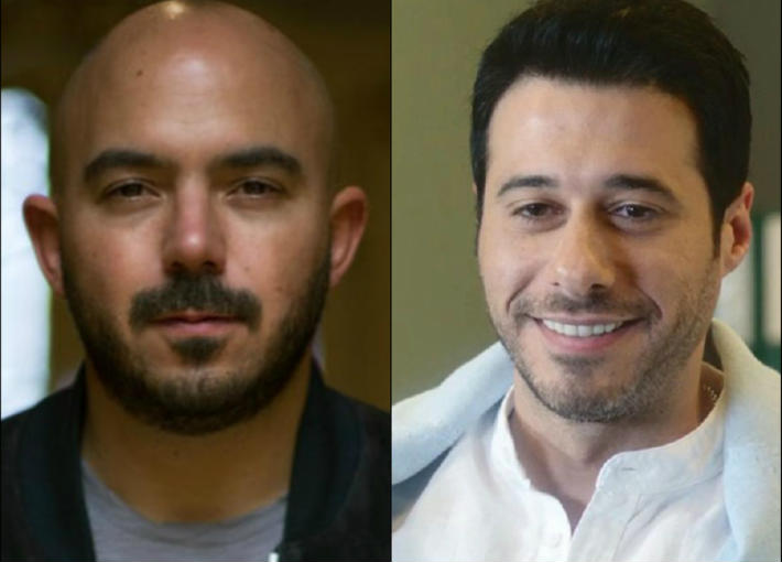 أحمد السعدني ومحمود العسيلي