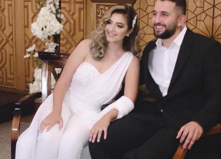 راندا طارق فؤاد وأحمد السبكي