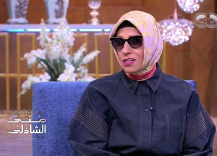 بالفيديو- ابنة نجيب محفوظ لمنى الشاذلي: مقتنيات والدي بخير   في الفن