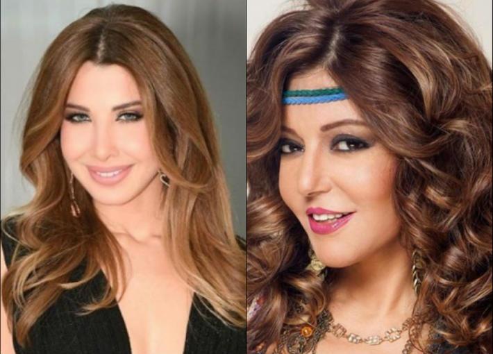 سميرة سعيد ونانسي عجرم
