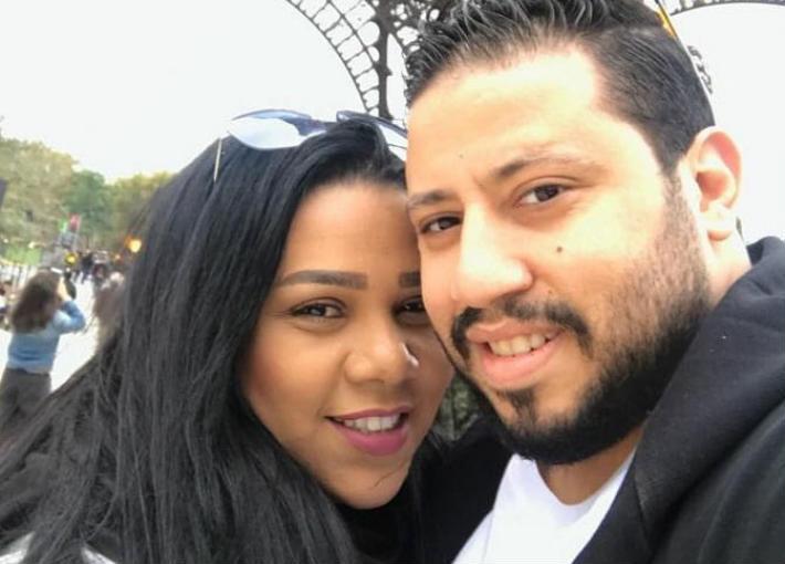 شيماء سبف ومحمد كارتر