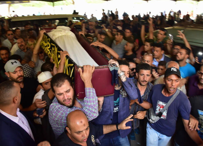 جنازة فاروق الفيشاوي