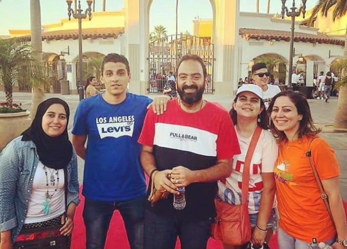 المصريين المشاركين في البرنامج
