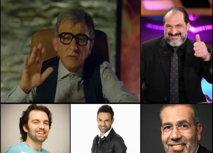 أحمد حلمي وخالد الصاوي ومدحت العدل وأمير طعيمة وشريف رمزي