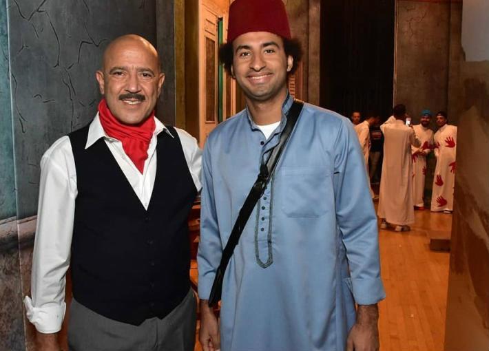 أشرف عبد الباقي وعلي ربيع