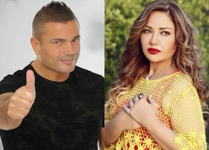 بالفيديو- ليلى علوي تغني  وياه  في حفل عمرو دياب   في الفن