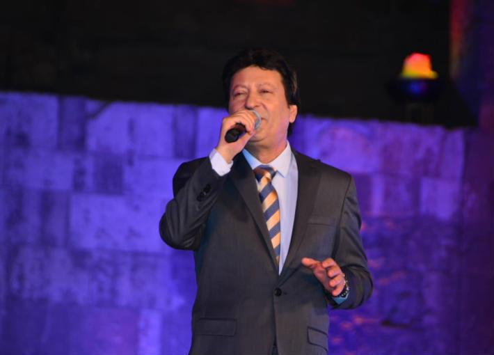 محمد اللو في مهرجان القلعة