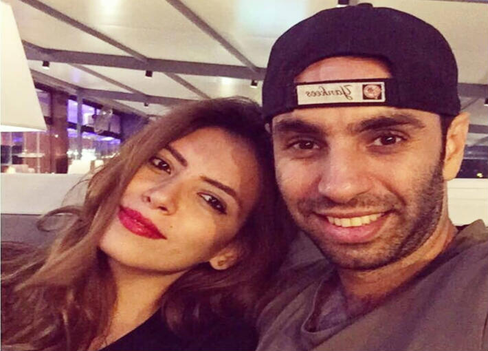 أحمد الشامي وزوجته