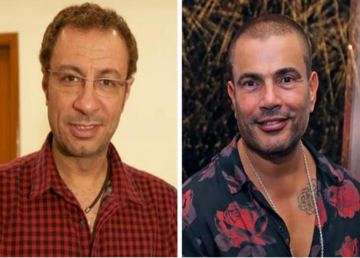 عمرو دياب ، طارق مدكور