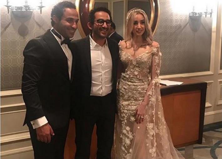 صورة- أحمد حلمي يؤكد على انتهاء خلافاته مع أحمد فهمي بحضور حفل زفافه   في الفن