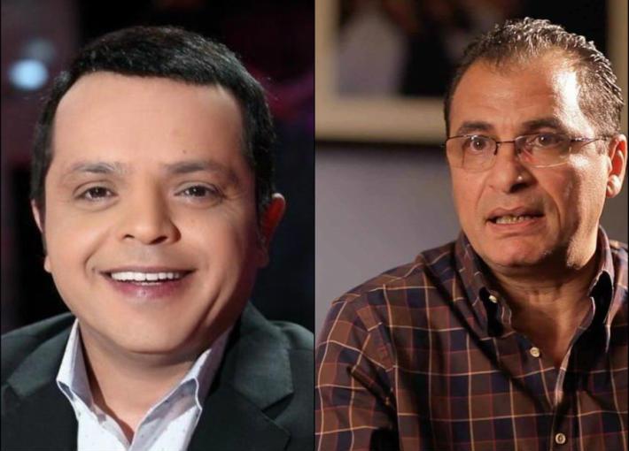 نادر صلاد الدين ومحمد هنيدي