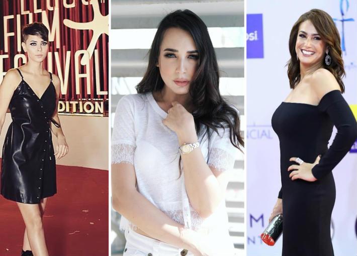 فنانات اخترن الطابع الرجالي لملابسهن في ختام المهرجان