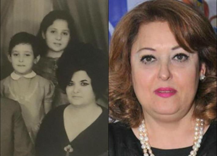 نهال عنبر وعائلتها