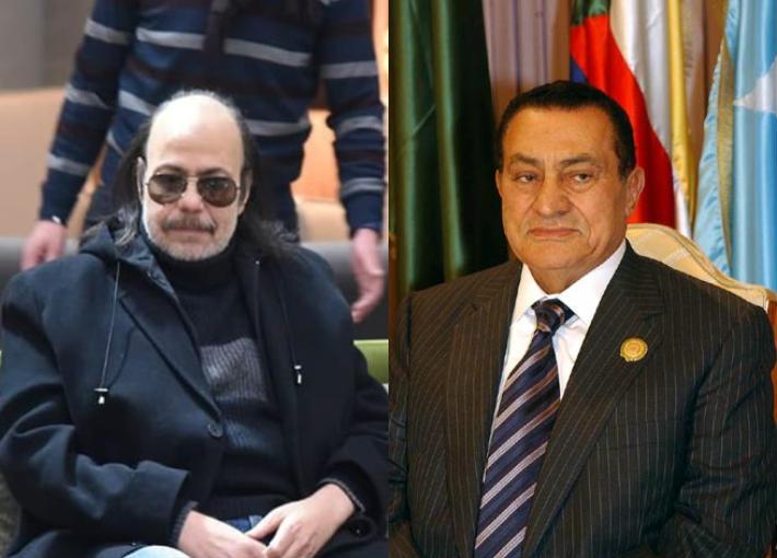 مبارك وطلعت زكريا