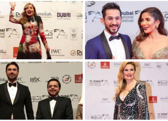 النجوم في الدورات السابقة لمهرجان دبي السينمائي