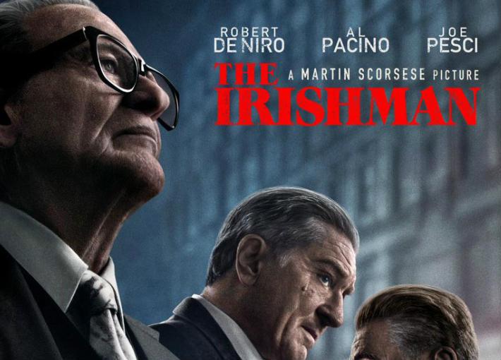 الملصق الدعائي لفيلم The Irishman
