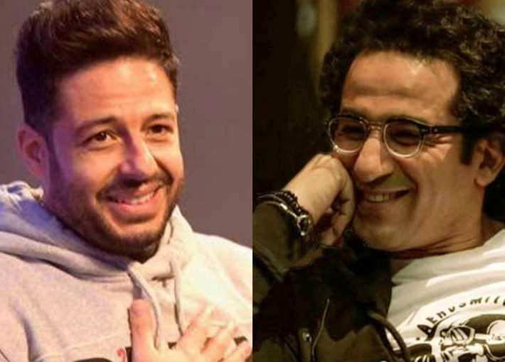 أحمد حلمي ومحمد حماقي