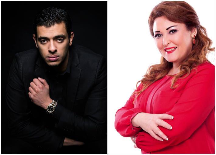 نهال عنبر ومحمد يسري