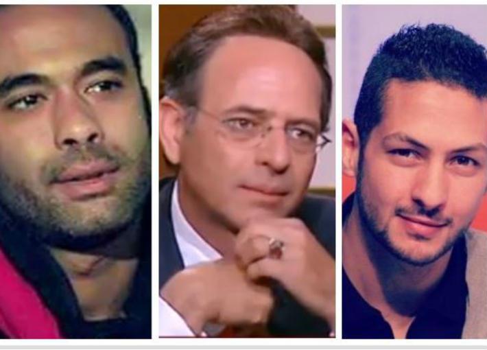 عمرو سمير وممدوح عبد العليم وهيثم أحمد زكي