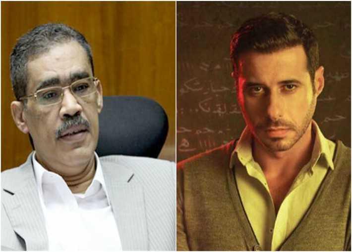 أحمد السعدني وضياء رشوان نقيب الصحفيين