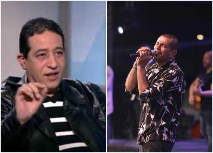 عمرو دياب ويحيى الموجي