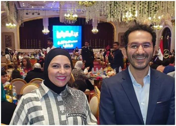 دعاء فاروق وأحمد حلمي