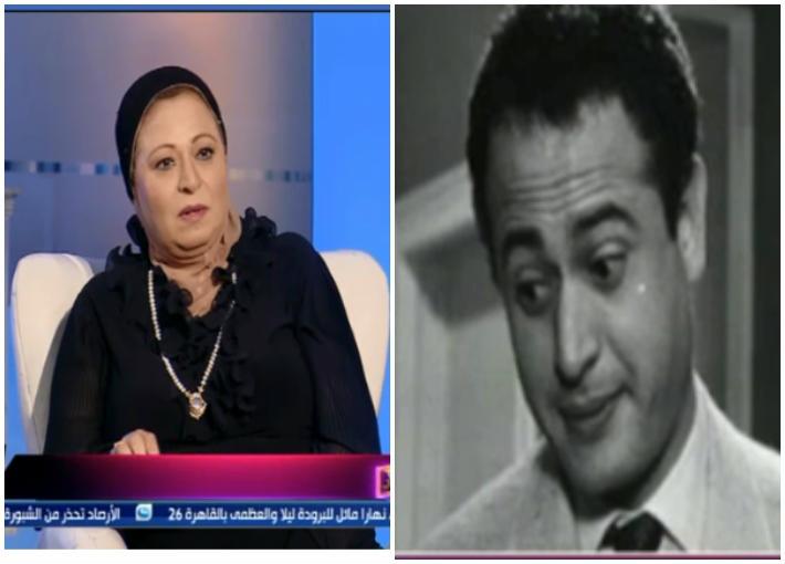 عبد المنعم إبراهيم وابنته سهير