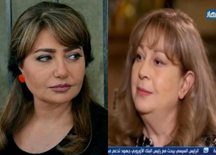 سمية اللألفي وليلى علوي