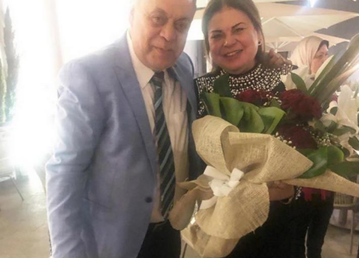 ماجدة وأشرف زكي