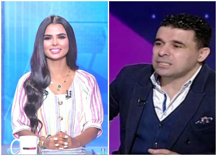 خالد الغندور وفرح علي