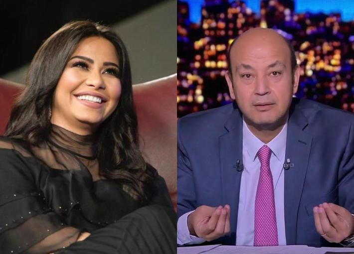 عمرو أديب وشيرين