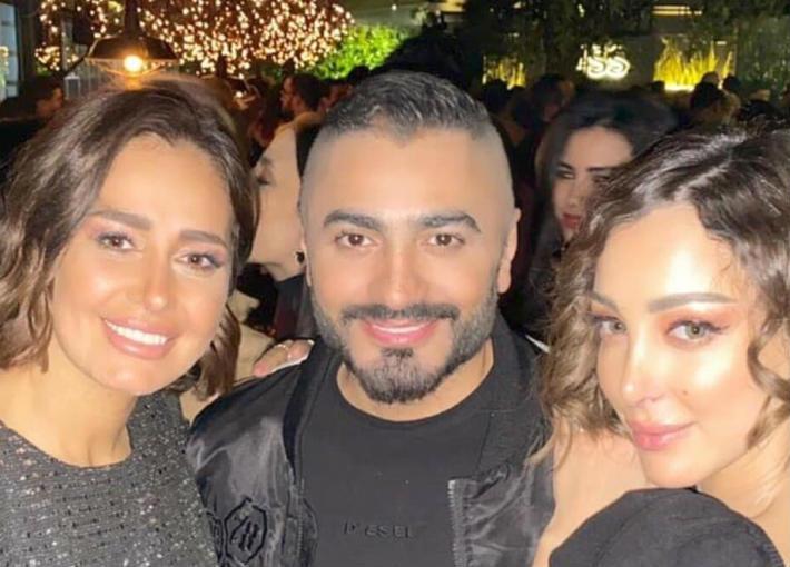 بالصور والفيديو - زوجة تامر حسني وأصدقاؤه يحتفلون بدخوله موسوعة ...