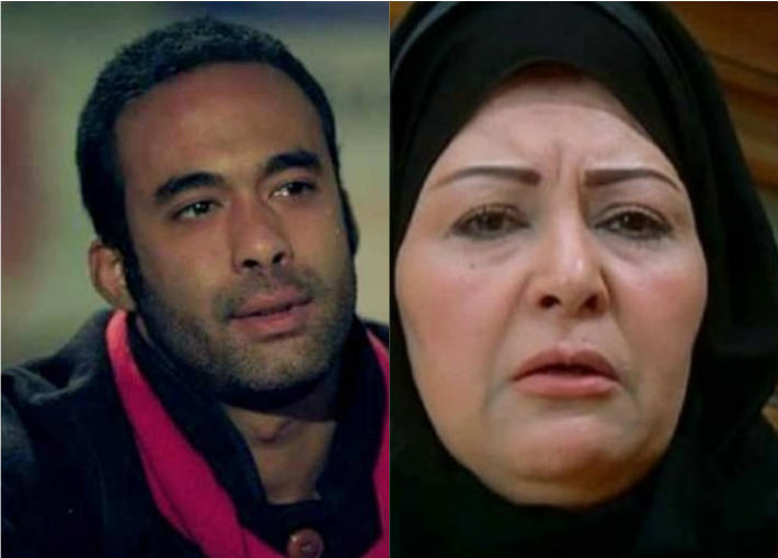عفاف شعيب وهيثم أحمد زكي