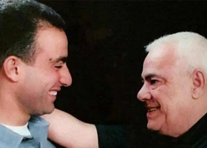 أحمد السقا ووالده صلاح السقا