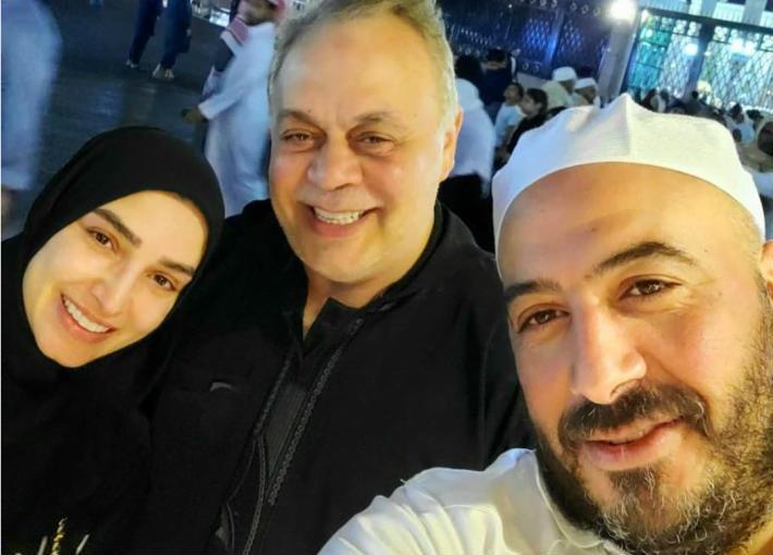 مجدي الهواري وأشرف زكي وروجينا