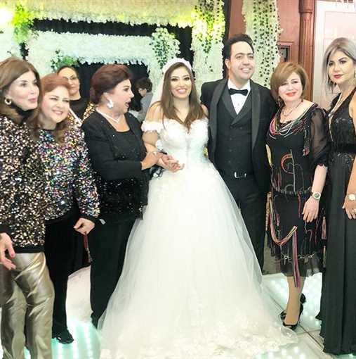 غادة رجب من زفافها