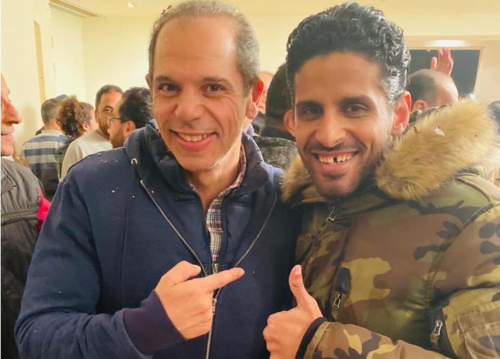 حمدي الميرغني ورامي إمام