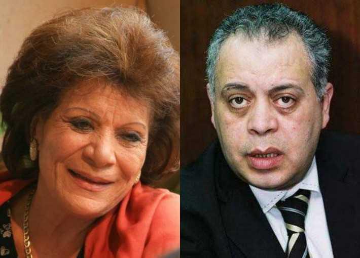 أشرف زكي، وعايدة عبد العزيز