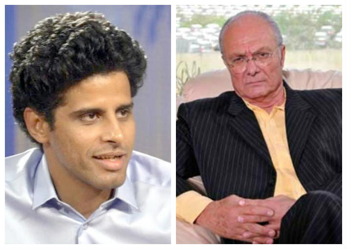 يوسف فوزي وحمدي الميرغني