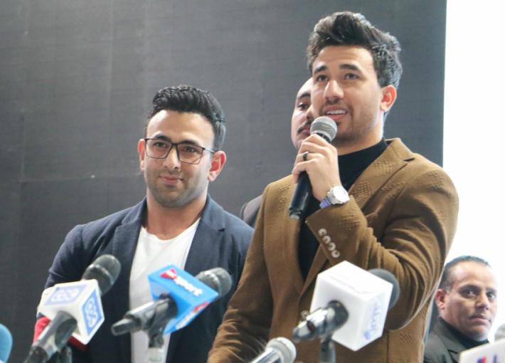 محمود تريزيجيه وإبراهيم فايق