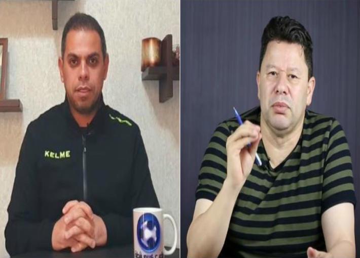 رضا عبد العال وكريم شحاتة