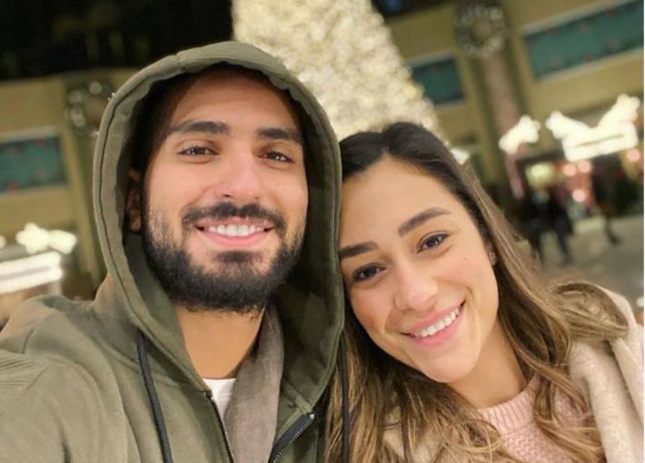 محمد الشرنوبي وراندا رياض