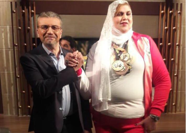 عمرو الليثى والمرأة البلدوزر